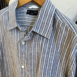 ⭐️ Men's Linen Dress Shirt by Banana Republic